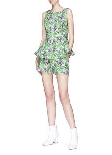 ANIRAC 花卉印花短裤