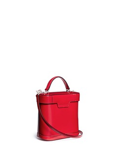 Mark Cross 'Benchley' brush off leather binocular bag