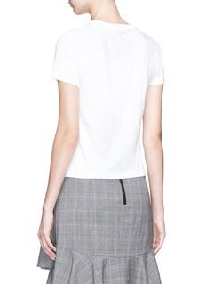 alice + olivia 'Cicely' slogan print T-shirt