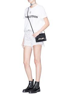 Ivy Park 'REVOLUTION' slogan female symbol print T-shirt