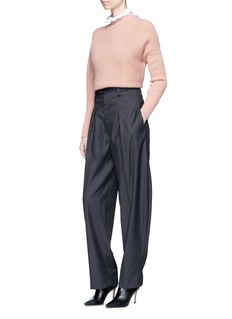 Isabel Marant 'Mexi' oversized virgin wool suiting pants
