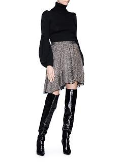 Isabel Marant 'Babylon' sequinned asymmetric skirt