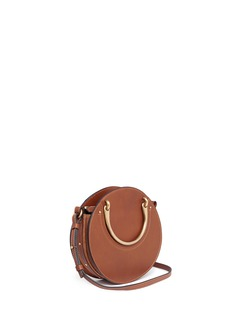 Chloé 'Pixie' small bracelet handle round crossbody bag