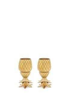 W&P DESIGN Pinapple shot glass set