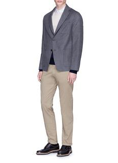 Tomorrowland Wool-silk soft blazer