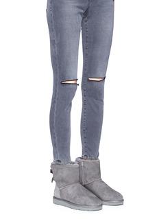Ugg Australia 'Mini Bailey Bow II' ankle boots