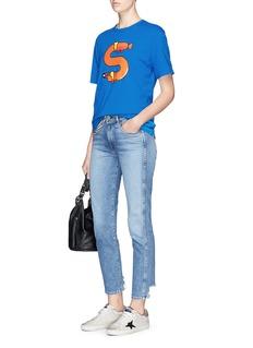 Mario Carpe x Lane Crawford Sausage dog print T-shirt