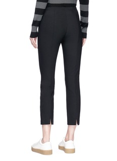 Vince Stitch front ponte jersey cropped leggings