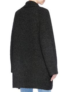 Vince Merino wool-cashmere bouclé cardigan
