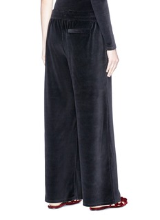 T By Alexander Wang Velour culottes