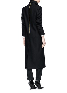 Haider Ackermann Embroidered virgin wool melton coat