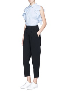 Comme Moi Cropped tapered pants