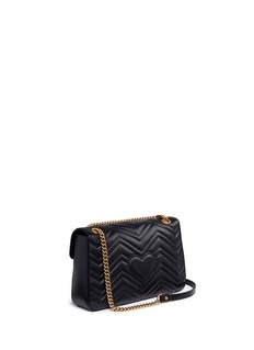 Gucci 'GG Marmont' insect stud leather shoulder bag