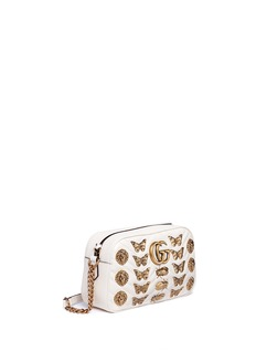 Gucci 'GG Marmont 2.0' animal stud quilted leather bag