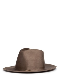 Janessa Leone 'Riley' wool felt fedora hat