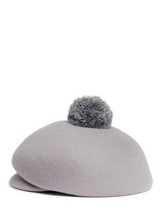 Eugenia Kim 'Ogden' pompom wool felt cap