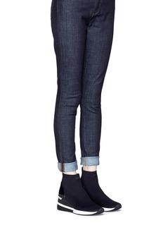 Michael Kors 'Skyler' knit sock sneaker boots