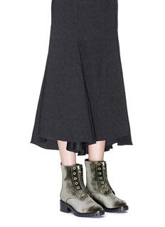 3.1 Phillip Lim 'Hayett' velvet mid calf boots