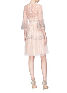 Needle & Thread 'Climbing Blossom' floral embellished tulle dress
