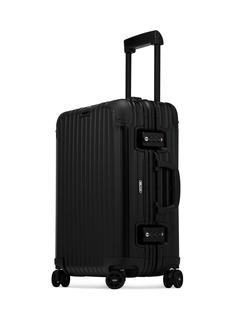 RIMOWA Topas Stealth Multiwheel® (Black, 34-Litre)