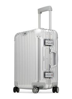 RIMOWA Topas Cabin Multiwheel® (Silver, 34-litre)