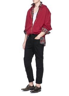 Haider Ackermann Tartan plaid herringbone shirt