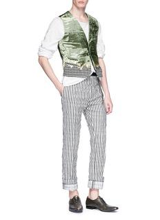 Haider Ackermann Stripe brushed twill pants