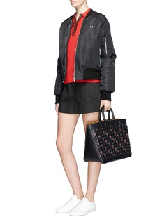 Coach 'Rogue' Coach Link glovetanned leather tote