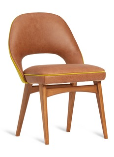 Self Bill chair – Tan/Yellow