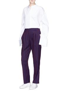 FFIXXED STUDIOS Stripe suiting pants