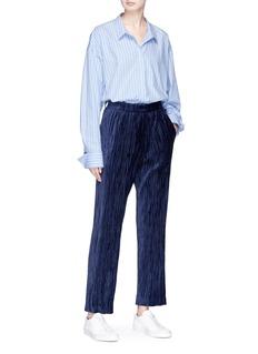 FFIXXED STUDIOS 'Home' ruched velvet pants