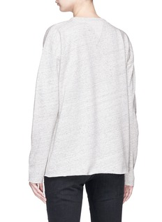 Closed x Jupe by Jackie Heart embroidered sweatshirt