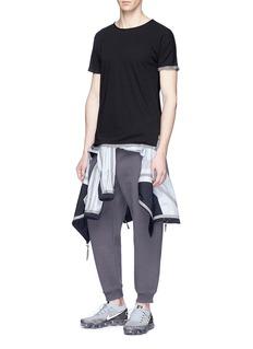 SIKI IM / CROSS Reflective trim performance T-shirt