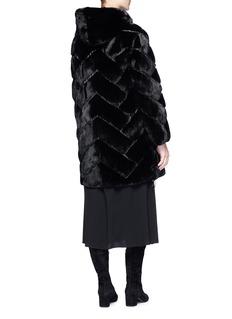 Yves Salomon Reversible mink fur down puffer coat