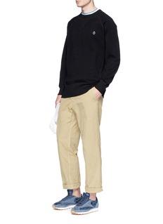 Bianca Chandon 'Circumflex' cotton piqué sweatshirt