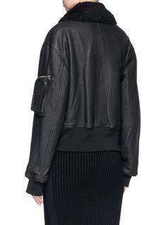 Public School 'Guila' lambskin leather jacket