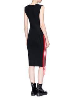 Public School 'Stripe Serat' sleeveless Merino wool blend rib knit dress