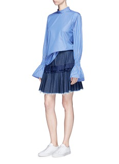 Maggie Marilyn 'Composed' pleated denim skirt
