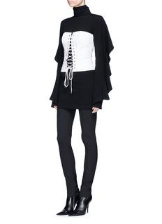 STRATEAS CARLUCCI 'Bound' pinstripe corset