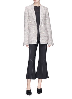 Georgia Alice 'Ga' double breasted tweed blazer