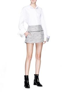 Georgia Alice 'Tarot' tweed A-line mini skirt