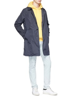 Ecoalf 'Liverpool' water-repellant trench coat