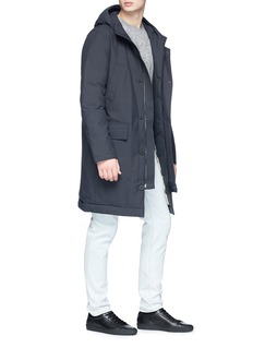 Ecoalf 'Groenland' down hooded parka