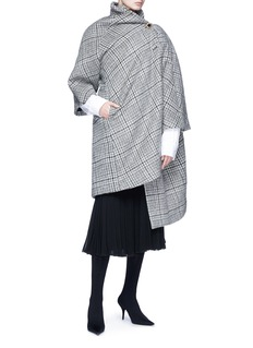 Balenciaga Pulled virgin wool-mohair coat
