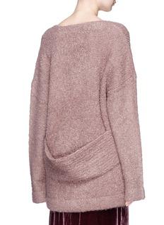 Dion Lee Oversized bouclé knit sweater