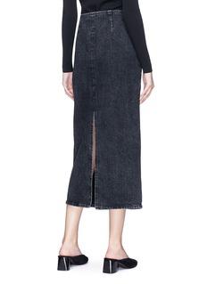The Row 'Deni' high waisted denim skirt
