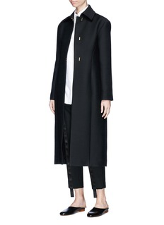 The Row 'Lafrom' wool-silk long suiting coat
