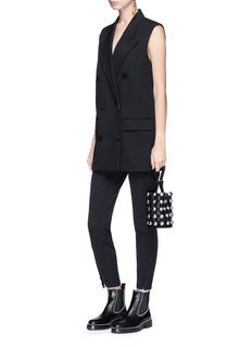 Alexander Wang  Oversized virgin wool blend suiting vest