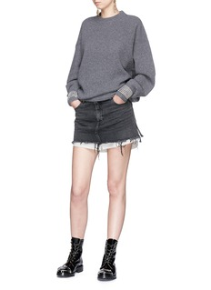 Alexander Wang  Strass embellished sweater