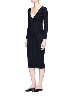 Rosetta Getty Rib knit dress